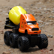 Quarry Monster Cement Mixer Construction Diecast Truck (With Moving Parts)