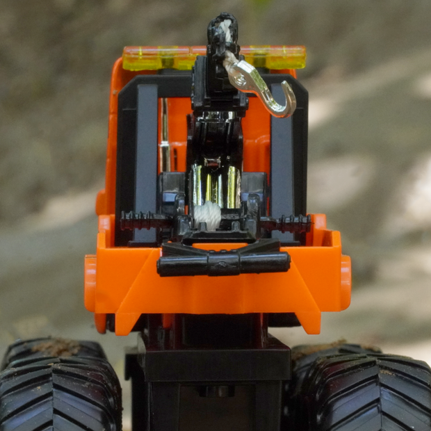 Monster Metal Crane Construction Diecast Truck (Moving Parts)