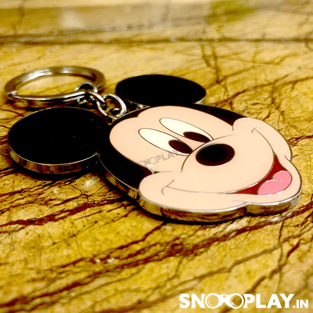 Buy Disney Mickey Mouse Face Metal keychain Keyring premium Quality Online India at Low Price