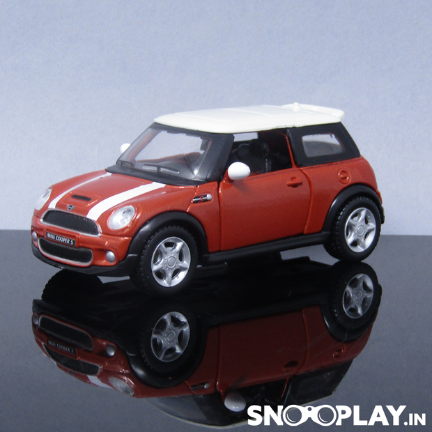 Mini Cooper S Die Cast Pull Back Car Model