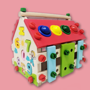 Multi-functional Smart House (Build House, Learn Numbers & Colors, Play Xylophone)
