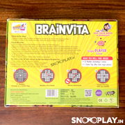 Brainvita Game : Buy marble peg solitaire game online in India at best price