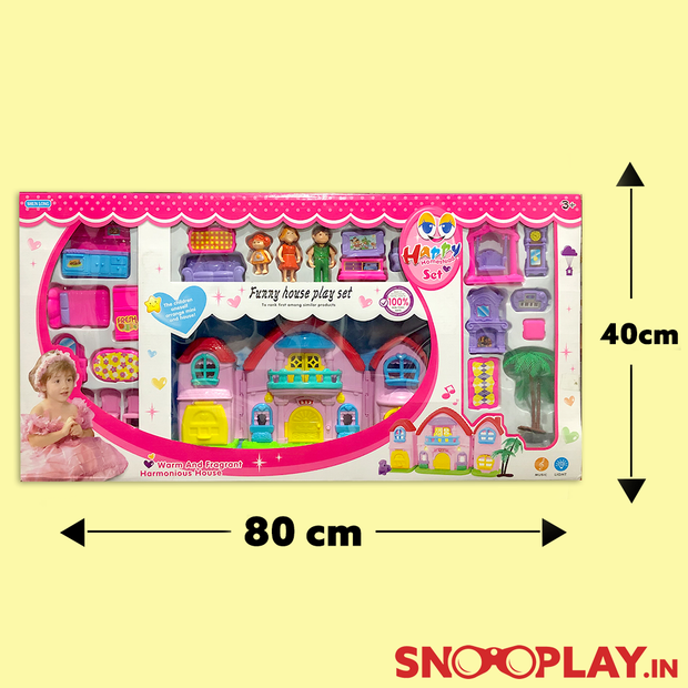 Buy Big Doll House for girls kids furniture dolls online india best price