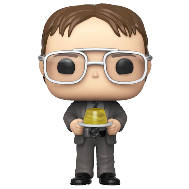 "The Office TV Show ""Dwight Schrute with Jello Stapler"" - Funko Pop Figure"