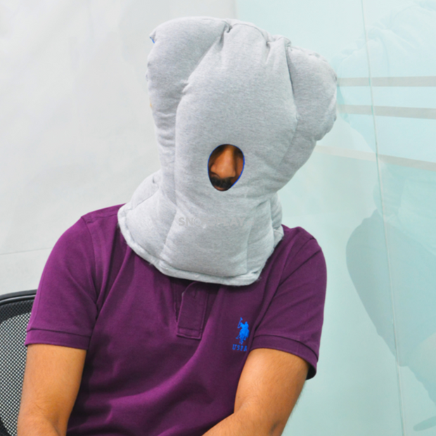 Buy Travel head neck support pillow for airplane car office india