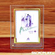 5 Peices of Glass Photo frame (3.5 inches by 5 inches)