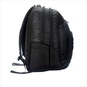 Arctic Fox - Doodle Black Backpack