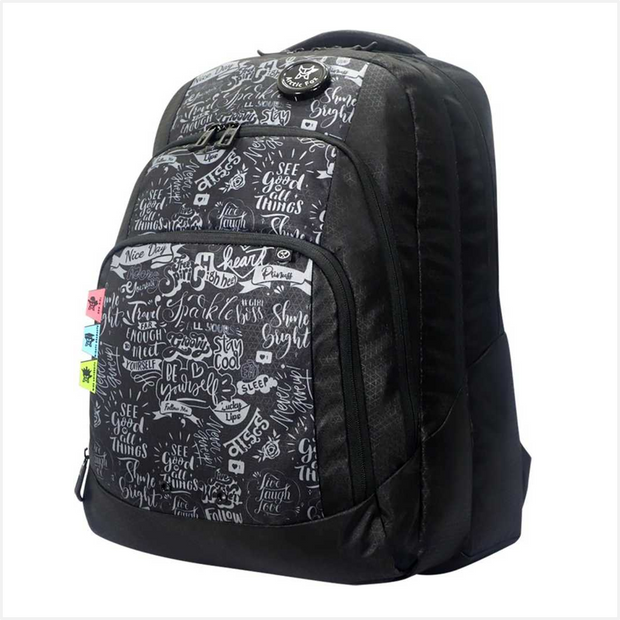 Arctic Fox Doodle Backpack