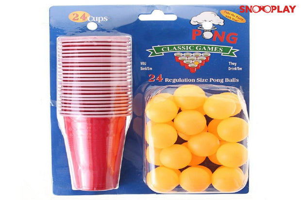 Beer Pong Kit party game drinking game