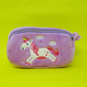 Plush Pencil Box Pouch ( Captain America, Spiderman, Frozen Queen Elsa, Unicorn)