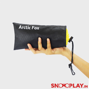 Arctic Fox Sack Jet Black Pouch school office online india best price