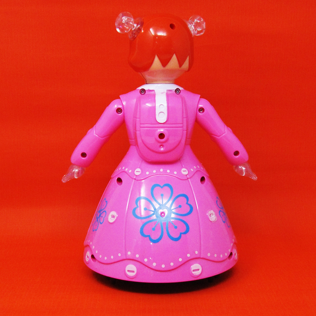 Princess Doll Dance and Musical Toy with Lights (Bump & Go Toy)