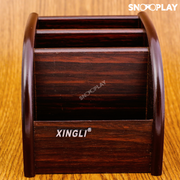 Non Rotatable Wooden Desk Organiser gift online india