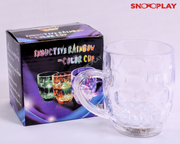 Inductive Rainbow Color Cup light emitting mug best unique birthday return gift for kids buy online-Snooplay.in