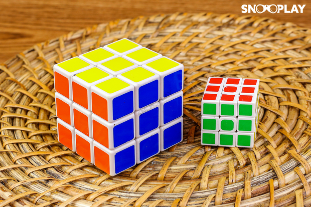 Magic Cube (3*3*3) best birthday return gift for kids buy online-Snooplay.in