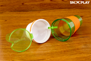 Snackeez 2 in 1 Snack and Drink Cup best unique birthday return gift for kids buy online-Snooplay.in