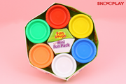 Fun Dough Mini Pack (6 Colors) best unique birthday return gift for kids and babies buy online-Snooplay.in