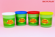 Fun Dough Jumbo Pack (4 Colors) best unique birthday return gift for kids and babies buy online-Snooplay.in