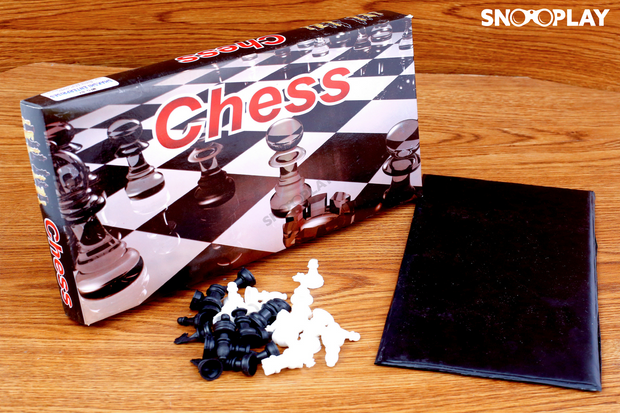 Chess (Small Size) best unique birthday return gift for kids and party board game buy online-Snooplay.in
