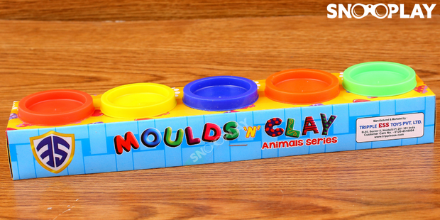 Moulds N Clay dough set best unique birthday return gift for kids buy online-Snooplay.in