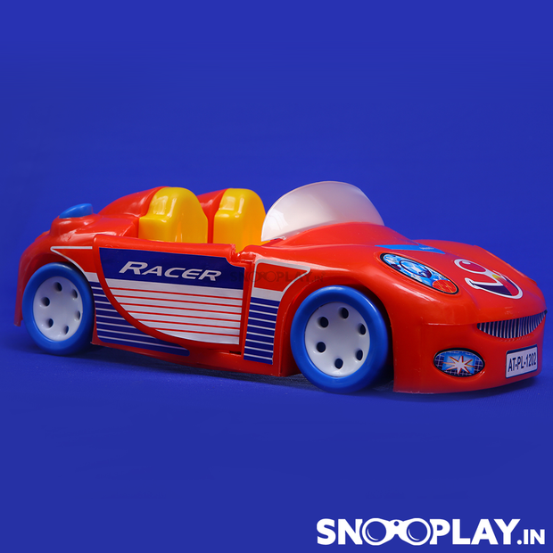 Buy friction powered racer car toy with opening door kids- Snooplay.in