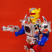 Escort: Interstellar Fire Bolt Hero musical playing robot for kids :- Snooplay.in