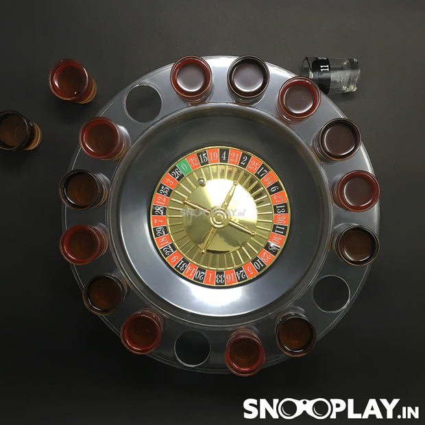 Shot Glass Roulette Drinking Party Game Online India Best Price