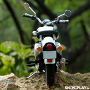 Buy Royal Enfield Classic 350 Die Cast Bike Model (White) 1:12 Scale model for home Decor and collectors back