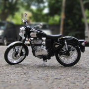 Royal Enfield Classic 500 Diecast Bike Model (Black) 1:12 Scale | COD not available on this product
