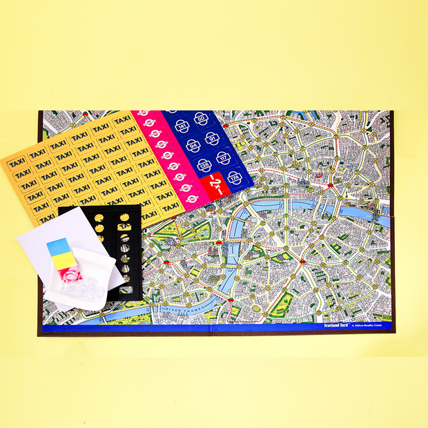 Scotland Yard Strategy Board Game By Funskool
