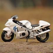 This white coloured toy bike is a top selling new model bike and is a greatly detailed scale model