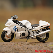 The toy for kids is a great option for desk table room office decoration racing bike