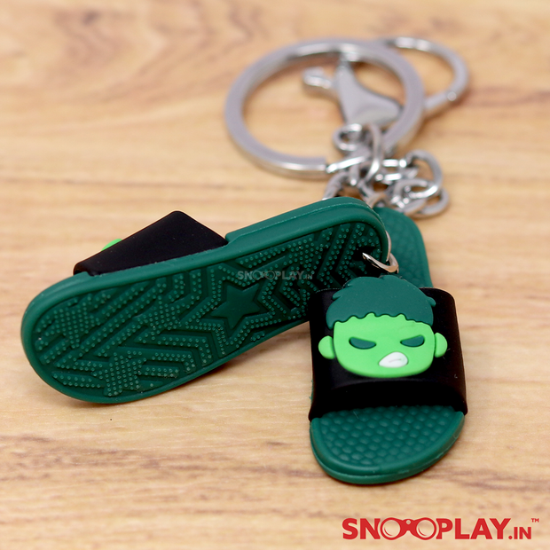 Slippers Shaped Action Figures Keychains Online India Best Price