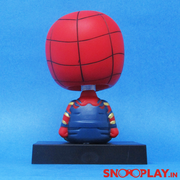 Spiderman Bobble Head Action Figure Car Decoration Mobile Stand