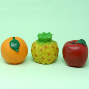 Squeezy Squeaky Toys - Fruits