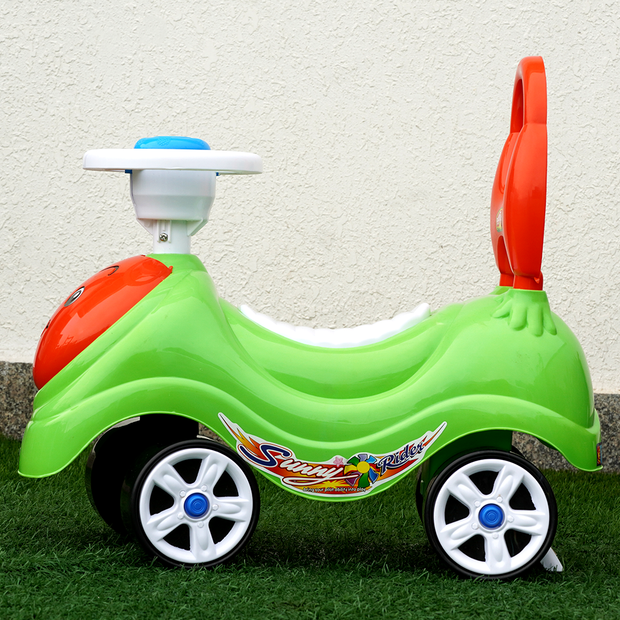 Sunny Rider (Ride on Car & Walker For Kids)