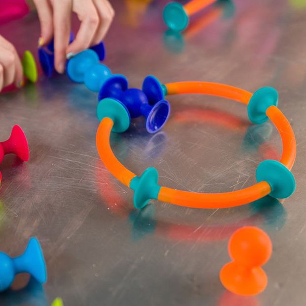 Squigz Toobs - Suction Cup Building Toy