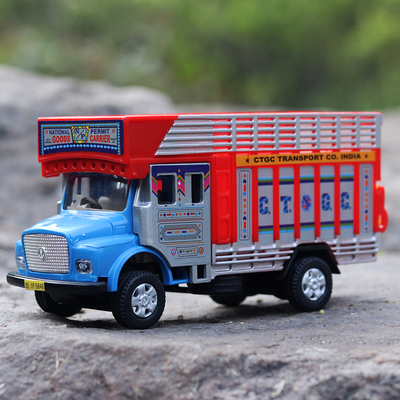 Buy pull back truck toy for kids online india- Snooplay.in