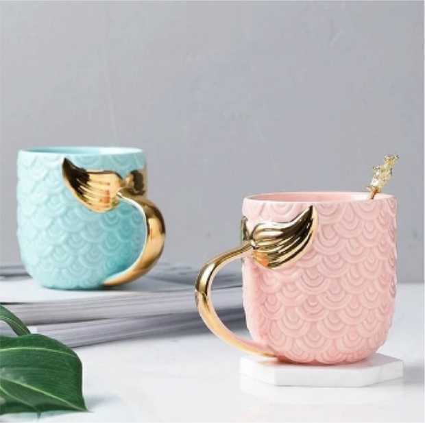 Mermaid 3D Mug