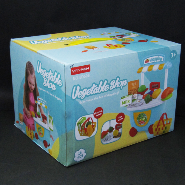 Vegetable Shop Complex Shopping Toy Playset Kids Online India Best Price