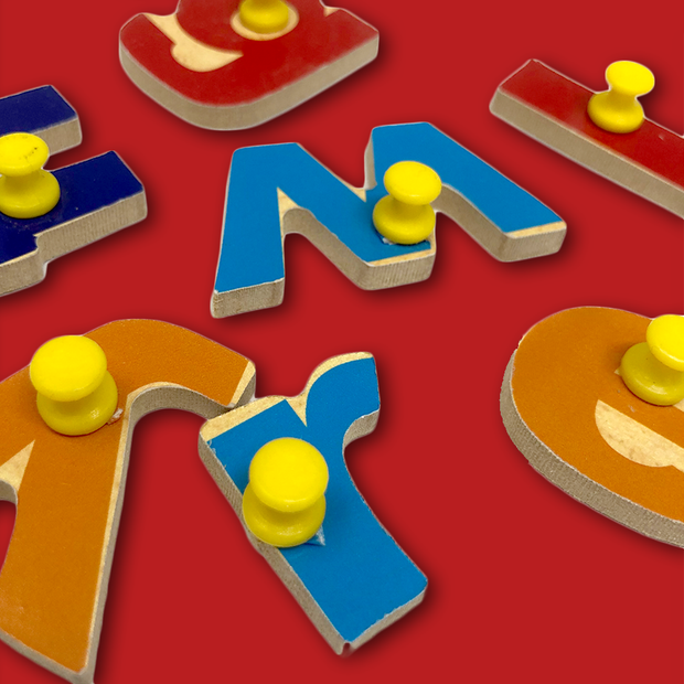 Wooden Small Letters Blocks - Buy Wooden English Alphabet Blocks for Kids India Low Price\