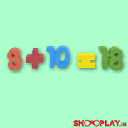 Buy wooden numbers 1-100 and maths signs for kids blocks - Snooplay.in learning and educational