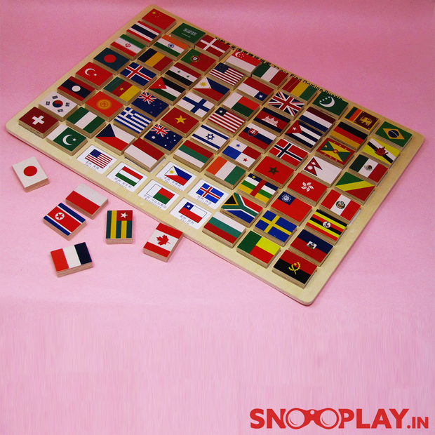 Buy Wooden Flag Puzzle Game kids online india best price