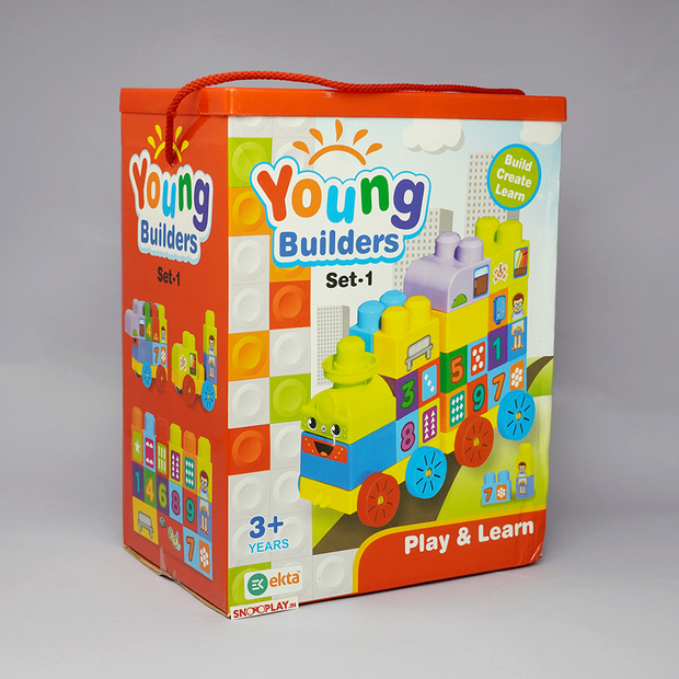 These fun toy blocks are a great learning and educational toy which teaches your kids about basics about numbers.