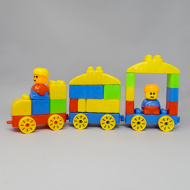 What more? This builder block set comes with fun stickers and is made of non-toxic material which leaves you worry-free while your kid builds their dream model.