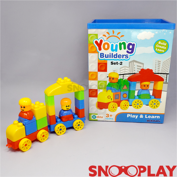 Young Builder Set-2 (Building Blocks for Kids)