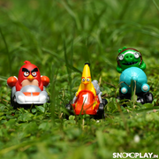 Angry Birds Crashers Pullback cars (3 Car Racers in 1 Set)