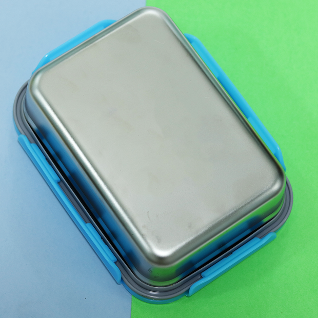 Avenger Stainless Steel Lock & Seal Lunch Box Big (800 ml)