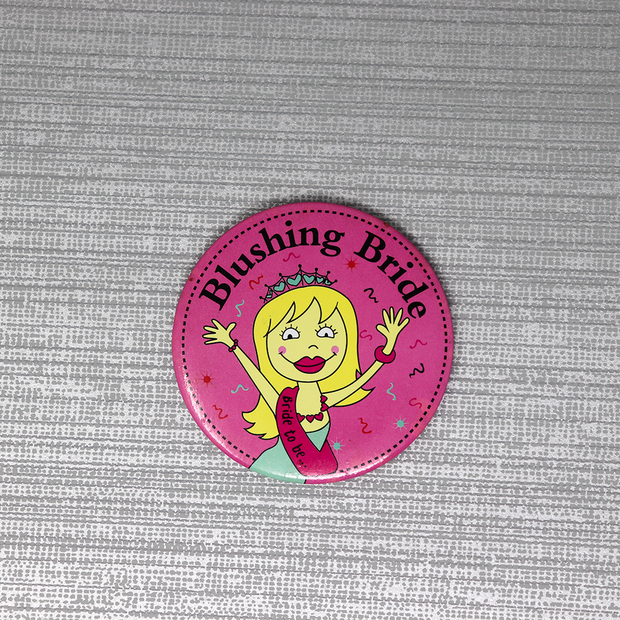 Bachelorette Badges for Bride & Bridesmaids
