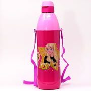 Cello Purosteel Kidzee Barbie School Water Bottle (900 ml)